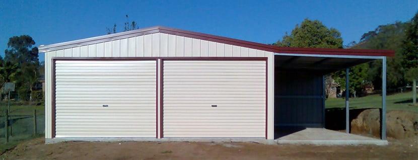 Custom Built Steel Garages Brisbane Pre Fabricated Or Kits