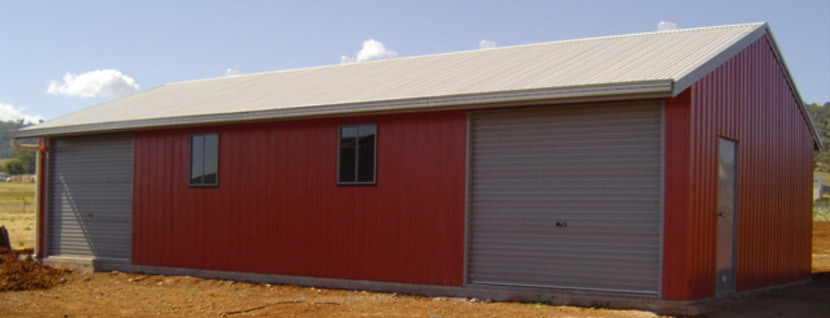 Rural Sheds for Sale QLD: farm equipment, hay, machinery